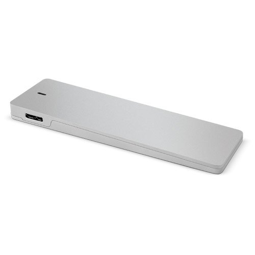 OWC Envoy Aluminium USB - Speicherlaufwerksgehäuse (Aluminium, Aluminium, ASMedia 1051, USB)
