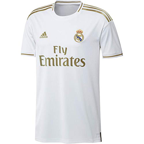 Adidas real h jsy jersey official real madrid first white