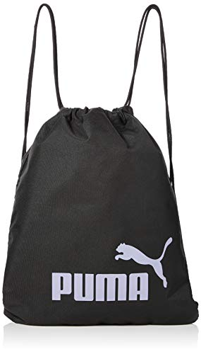 Puma Phase Gym Sack Bolsa De Cuerdas, Unisex Adulto, Black/