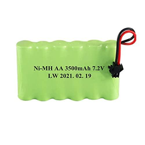 7,2 v 3500 mah AA batería Recargable para Control Remoto Juguete eléctrico Barco Coche camión 7,2 V 3000 mah batería Red