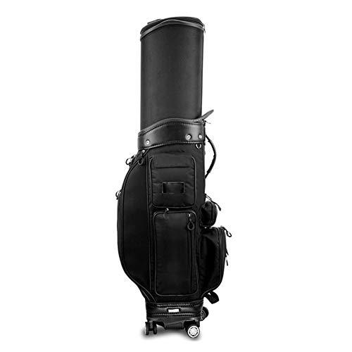 For Sale! Jia Jia- Golf Bag Multi-Function cue Bag Black Password Lock + rain Cover Golf Club Bag (C...
