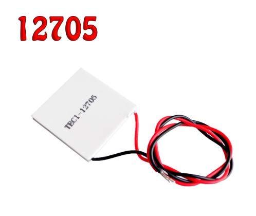 TEC1-12705 12703 12706 12709 12710 12715 Thermoelektrischer Kühler Peltier TEC1-1270640 * 40MM 12V Peltier Elemente Modul [TEC1-12705]
