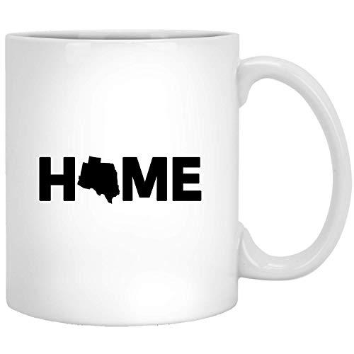 Colorado Home Love Contour-silhouet uit de VS - Proud America States White Mug