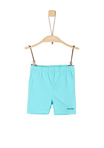 s.Oliver Baby-Jungen 59.906.75.5007 Shorts, Türkis (Turquoise 6224), (Herstellergröße: 86/REG)