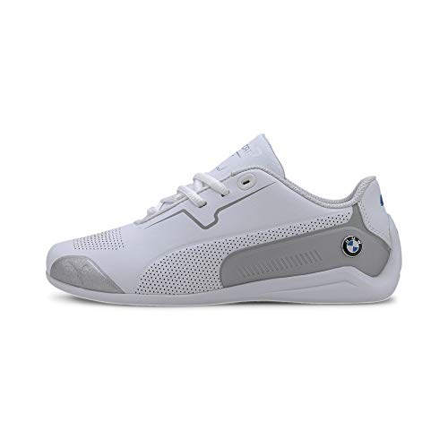 PUMA BMW M Motorsport Drift Cat 8 Youth Laufschuhe Puma White-Puma Silver UK 3_Youth_FR 35.5