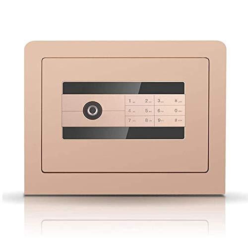 IGLZ Premium-Safe, Fingerabdruckerkennung und digitales Passwort Kombination Safes Feuerbeständige, Drillproof und einbruchsicherer Beruf Strongbox for Büro und zu Hause