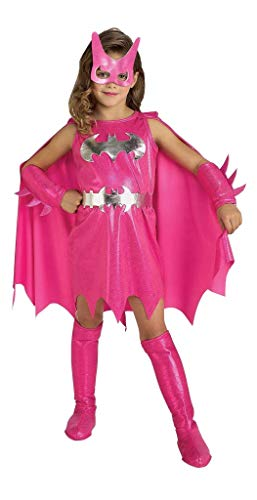 Rubbies - Disfraz de Batgirl para niña, talla S (3-4 años) (882754S)