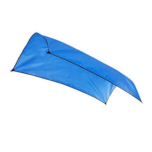 LXF JIAJU 4 SizeUltralight Garden Toldo Tabla Sombrilla Playa Sun Shelter Tarp Impermeable Tienda Tienda Sombra Al Aire Libre Camping Hammock PU3000 (Color : 3x3m Royal Blue)