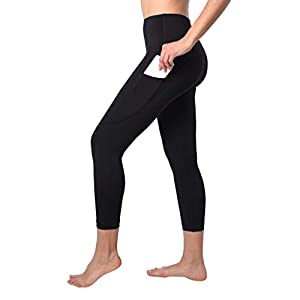 90 Degree By Reflex Squat Proof Side Phone Pocket Yoga Capris – High Waist Cropped Leggings
