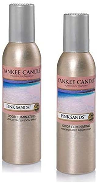 Yankee Candle 2 Pack Pink Sands Concentrated Room Spray 1 5 Oz