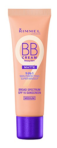 Rimmel Match Perfection BB Cream Foundation Matte, Medium, 1 Fluid Ounce