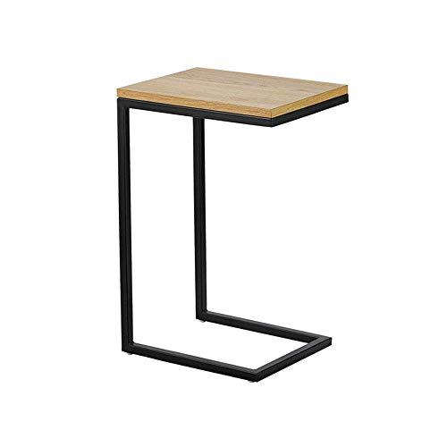 MNBV Moderner Couchtisch, Sofa Beistelltisch C Tisch Mehrfachständer H23.6-Zoll für kleinen Raum Wohnzimmer Tisch...