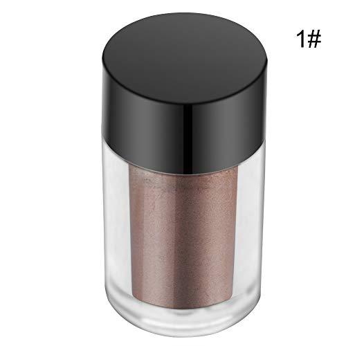 Glitter Lidschatten Augen Pigment lose Puder Lidschatten Make-up Kosmetik 7 Farben(01# Hautton), Glitter Lidschatten Augen Pigment Lose Puder Lidschatten Make-up Kosmetik 01#