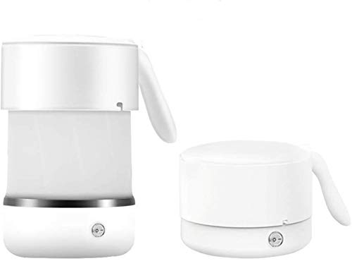 Adirigo Travel Foldable Eletric Kettles-White