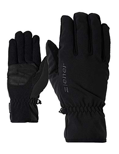 Ziener Erwachsene IMPORT multisport Funktions- / Outdoor-handschuhe | winddicht, atmungsaktiv, schwarz (black), 9