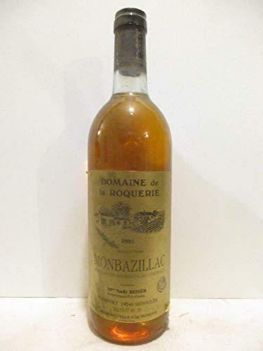 monbazillac domaine de la roquerie liquoreux 1985 - sud-ouest