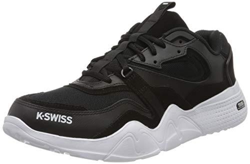 K-Swiss Herren CR-TERRATI Sneaker, Schwarz (Black/White 002), 42 EU