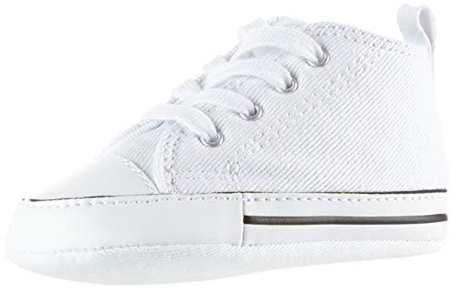 Converse First Star Cvs, Unisex - Kinder Sneaker, Weiß (Blanc), 20 EU