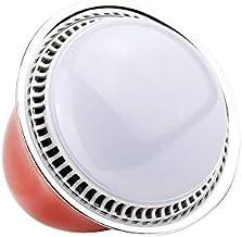 Gecheer 5W E26/E27 Smart BT RGB & White RGBW LED Bulb Light BT Speaker Music Lamp Brightness/Volume Adjustable Replacement...