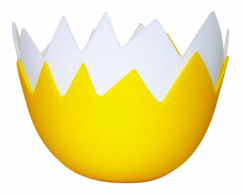 Eddingtons Pentolino in silicone a forma di guscio d'uovo per fare le uova in camicia