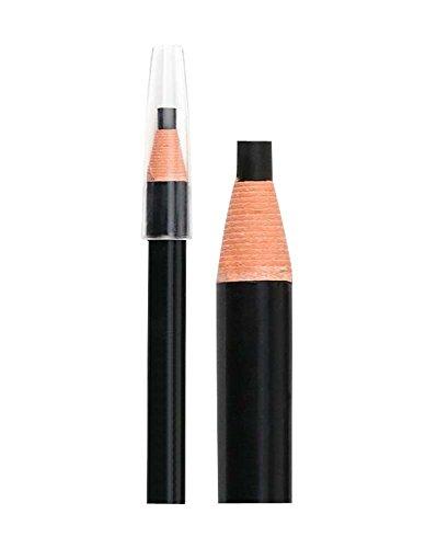 2Pcs Crayon à sourcil étanche imperméable aux sourcils, noire