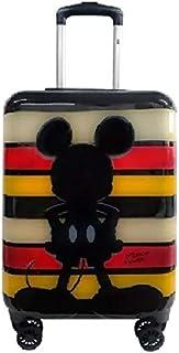 Mala Viagem Média Mickey Expansível 4 Rodinhas 360° Rígida