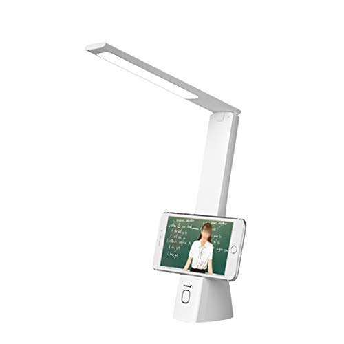 Binn Lámpara de Escritorio Led Escritorio LED de la lámpara con 3 Modos de Color y 3 Niveles de Brillo lámparas de Lectura, Mesita de luz Permanente turística for los Estudiantes del Dormitorio