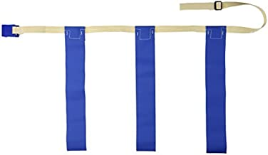 TRIPLE THREAT Flag Football Belts, Blue, Large (EACH)