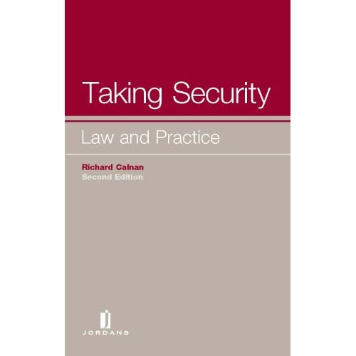 Taking Security: Law and Practice