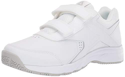 Reebok Women's Work N Cushion 3.0 KC Walking Shoe, White/Steel, 5.5 D US