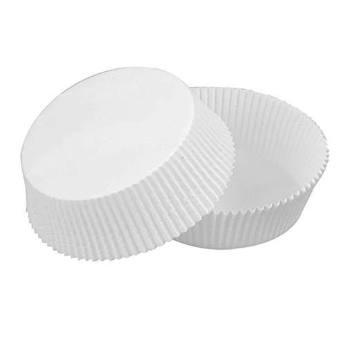 Biodegradable Rectangular Paper Baking Liner (Case of 100), PacknWood - Bulk Baking Cups (4.3' x 3.1' x 2.2') 209CPS160