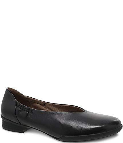 [ダンスコ] シューズ 28.0 cm スリッポン・ローファー Kira Leather Slip On Loafers Black Anil レディース [並行輸入品]