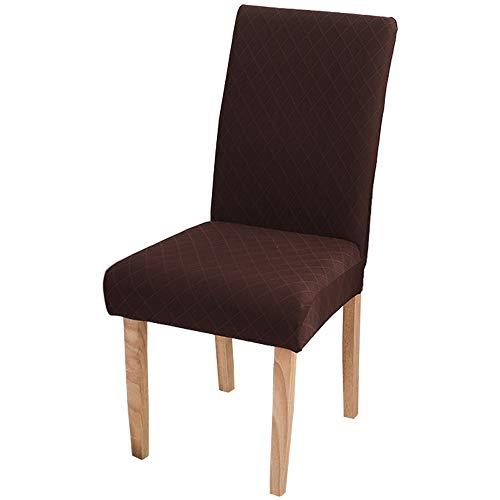 Layack Dehnbare Stuhlbezüge, 4 Stück, abnehmbare, waschbare Schonbezüge für Hotel, Restaurant, Hochzeit, Party, Zuhause, Esszimmer