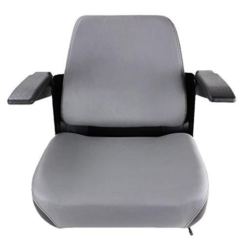 E-K3011-56010 Zero Turn Mower Seat for Kubota Z125EBR, Z125SKH, Z122EBR, Z121SKH, ZG127S (With Seat Suspension and Work Light), ZG127E, ZG123S (With Seat Suspension and Work Light), ZG124E