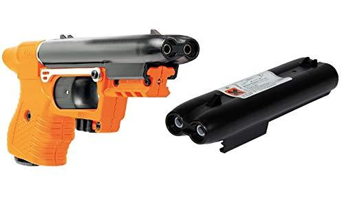 Piexon Pfefferspraypistole Jet Jpx orange inkl. Ersatzmagazin Tierabwehrgerät