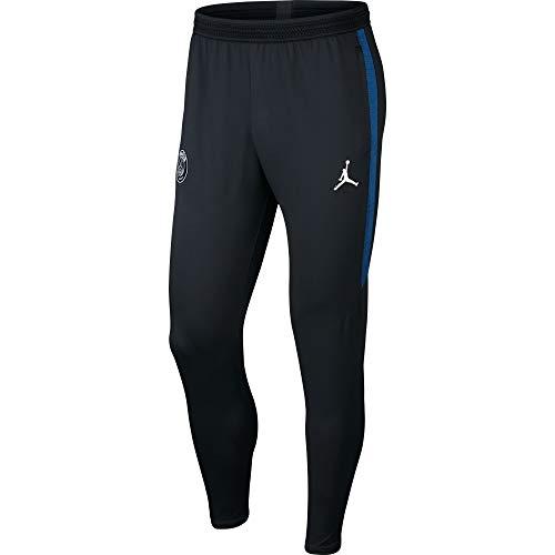 Nike Herren PSG M NK Dry Strk Pant KP 4TH Sport Trousers, Black/Hyper Cobalt/(White) (no Sponsor-plyr), L