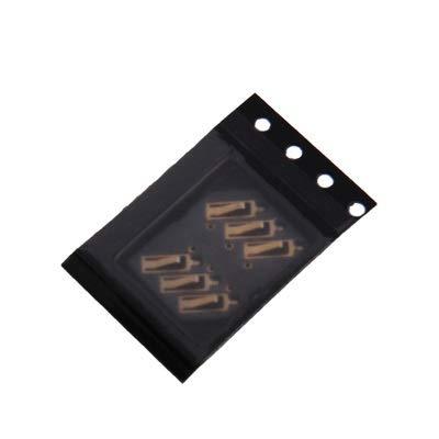 EASON Espacio - Conector de Tarjeta SIM Conector de Tarjeta SIM para Nokia 5320XM / N760 / N81 / N97 / N96 / C3-00/5800/5530/2710 / X3 / X6 / 6600s / 7600s / MIUI Bandeja