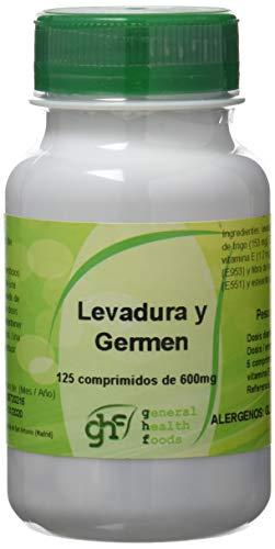 GHF 00639004 - Complemento Alimenticio Levadura de Cerveza y Germen de Trigo, 125 comprimidos