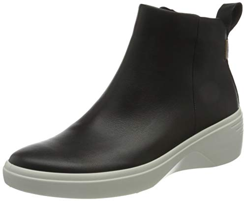 ECCO womens Bootie Ankle Boot, Black, 10-10.5 US