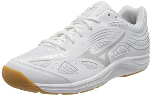 Mizuno Cyclone Speed 3, Scarpe da pallavolo Uomo, Bianco Argento, 40 EU