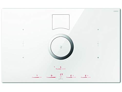 Elica NikolaTesla Switch PRF0146213A Induktions-Kochfeldabzug Weiß Umluft