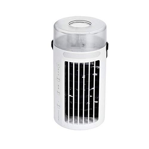 SHSM Mini Refrigerador de Aire, Mini Aire Acondicionado Móvil, Ventilador de Aire Acondicionado de Escritorio de Oficina Portátil calentador