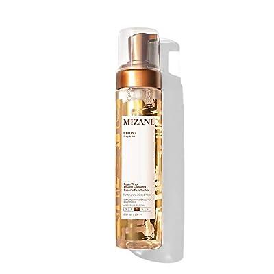 MIZANI Styling Foam Wrap | Balances Hydration, Shine & Hold | with Shea Butter | Paraben-Free | for Curly Hair | 8.5 Fl Oz