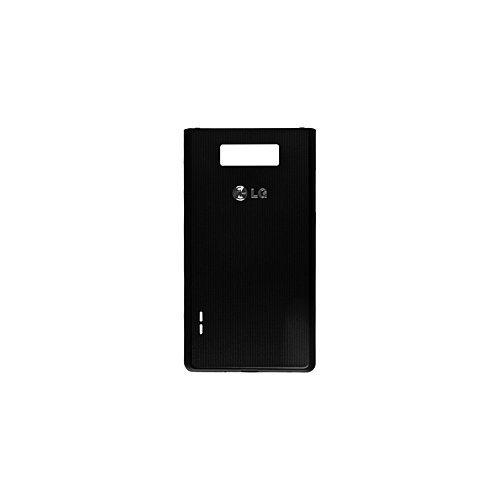 LG P700 Optimus L7 Akkudeckel schwarz