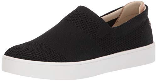 Spenco Womens Bahama Slip On Sneaker, Black 9 Medium US