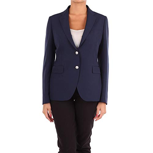 TAGLIATORE Luxury Fashion Damen JACK830006B1302 Blau Elastan Blazer | Jahreszeit Outlet