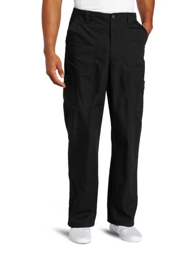 Carhartt Men's Tall Ripstop Multi-Cargo Scrub Pant, Black, 3X/Tall