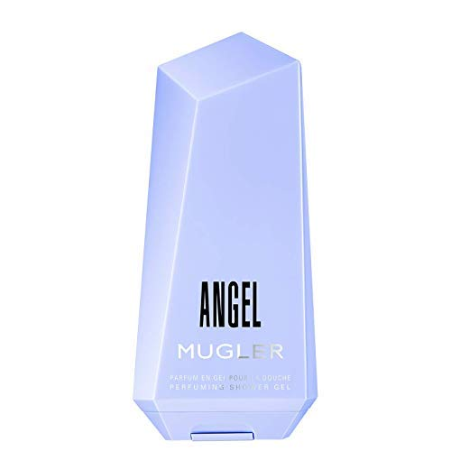 100% Authentic MUGLER ANGEL SHOWER GEL 200ml Made in France + 2 Niche perfume samples free