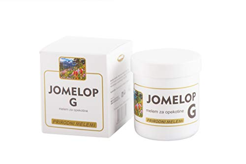 Jomelop G, Biophenol, Vitamins, Olive Oil Salve for Second-Degree and Third-Degree Face and Body Burns, Balm for Healing Blisters and Wounds – 90 G Jars – Once in 24 hours Application)