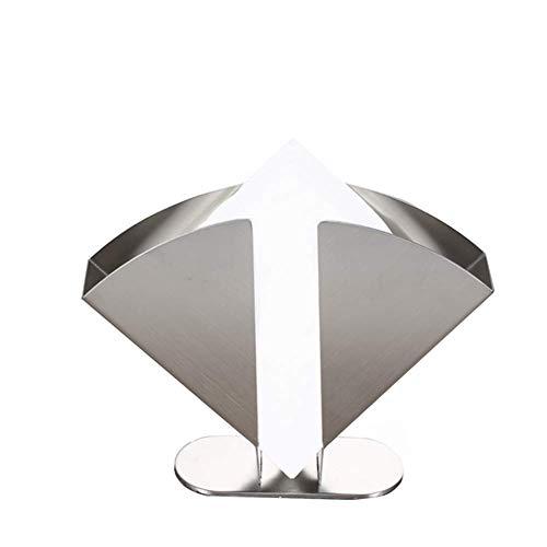 Aprilhp Serviettenhalter Metall für Arbeitsplatte Küche oder für Esstisch, Fächerförmiger Vertikaler Serviettenspender für Haus und Restaurant für Tisch Arrangements, Praktischer und Ansprechender